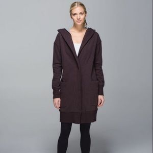 Lululemon brown karmacollected wrap